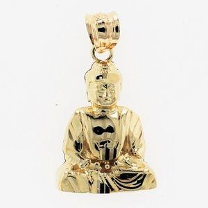 Jewelry - Buddha 10k Yellow Gold Pendant Charm